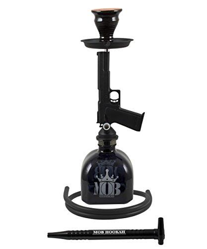 MOB Shisha Pistol black 45cm Pistole Nachbildung