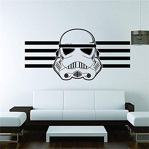 wandaufkleber 3d Wandtattoo Wohnzimmer Star Wars Wandbild Vinyl Aufkleber Aufkleber Dekor Galaxy Jedi Stormtrooper Raum Zitat Art Decor Home Decor Room Decals