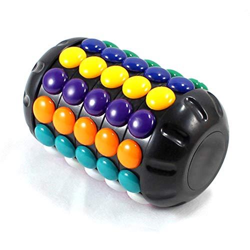 JMFHCD Cubo Mágico Cilindro Speed Cube Rompecabezas Juguetes Educativos Regalos para Niños Los Adultos
