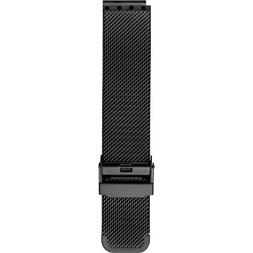 BERING Unisex Erwachsene Edelstahl Uhrenarmband PT-15540-BMBX