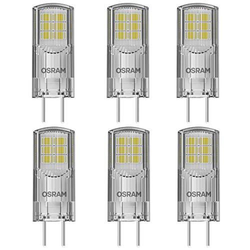 OSRAM LED PIN 30 GY6.35 Stiftsockellampe 2,6W=28W 300lm 12V warm white 80 Ra 6er