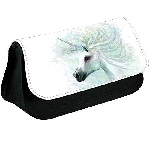Unicorn Motif imprimé Trousse Sac de maquillage pour stationnaire/l'école/cosmétique – 0040