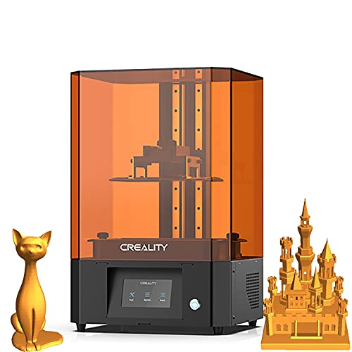 Official Creality LD-006 Resin 3D Printer UV LCD Resin 3D Printer Fast Printing With 8.9'' 4K Monochrome LCD, Off-line Print And Dual Fan Cooling 192 * 120 * 250mm