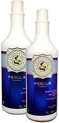 Lissage Brésilien PÉROLA d'ETERNITY LISS 2*1 litre **Bouteilles d'origine