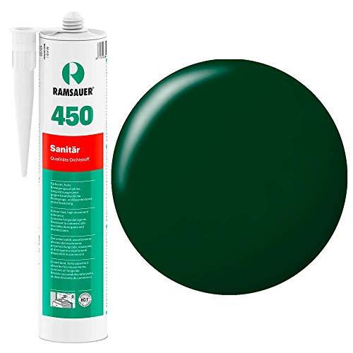 Ramsauer 450 1K Silikon Dichtstoff 310ml Kartusche (Grün)