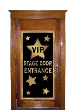 VIP Stage Door Entrance Door Cover Party Accessory (1 count) (1/Pkg)