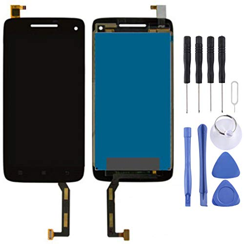 Dmtrab Pantalla LCD y Montaje Completo de digitalizador para Lenovo Vibe X S960 (Negro) Pantalla LCD (Color : Black)