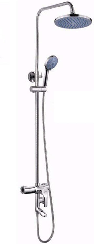 Dusche, Galvanisieren, an der Wand hngenden Anzug, alle Kupfer Dusche, heben drei Funktion set Dusche