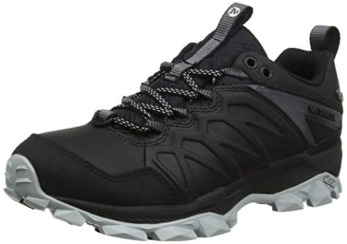 Merrell Damen Thermo Freeze Waterproof Trekking- & Wanderhalbschuhe, Schwarz (Black Black), 39 EU