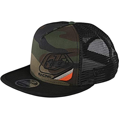Troy Lee Designs Sombreros ajustables Precision 2.0 Snapback para hombre, talla única, camuflaje verde