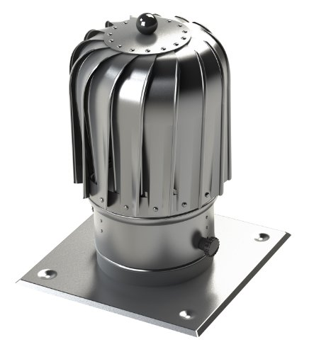 Kaminaufsatz Ø 150mm Aluminium Alu drehbarer Kugelaufsatz Schornsteinaufsatz Lüftungsaufsatz Ofen Kamin Lüftung