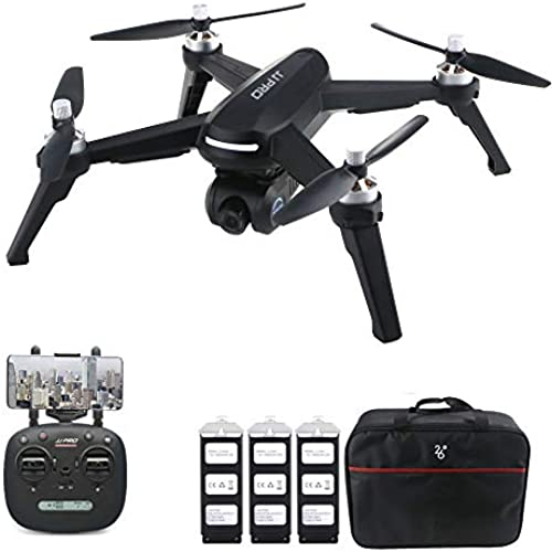 ZMH 1080P RC Drone JJRC JJJPRO X5 5G WiFi FPV Professional RC Quadcopter Brushless GPS Positioning Altitude Hold 1080P Camera Mit 3 Batterien 1 Tasche