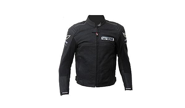Berik leren jas Perforada Air Flow (60, zwart): Amazon.nl