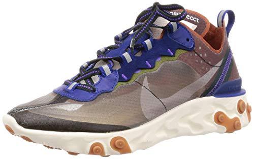 Nike React Element 87, Zapatillas de Atletismo para Hombre, Multicolor (Dusty Peach/Atmosphere...