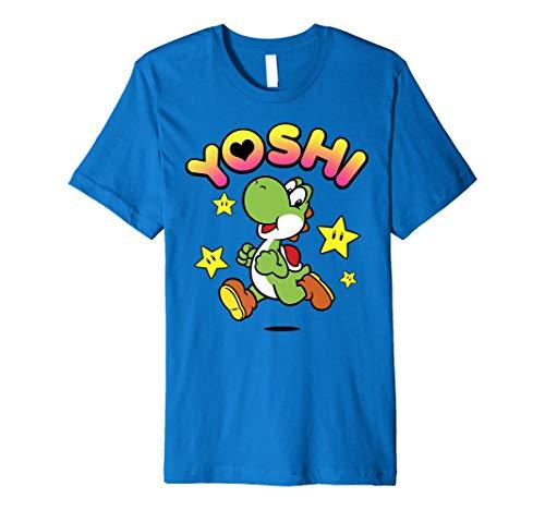 Nintendo Super Mario Yoshi Star Power Spirit Premium T-Shirt