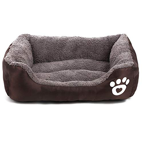 Tick Tocking Cama para Perros, sofá para Mascotas, Alfombrilla Grande
