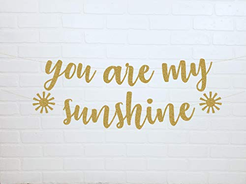 You Are My Sunshine You Are My Sunshine Baby Shower You Are My Sunshine Birthday You Are My Sunshine Banner para baby shower