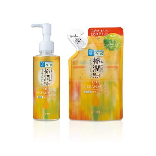 Rohto Hadalabo Gokujyun Oil Cleansing Ranking TOP11 + 200ml bottle SEAL limited product Refil 180ml