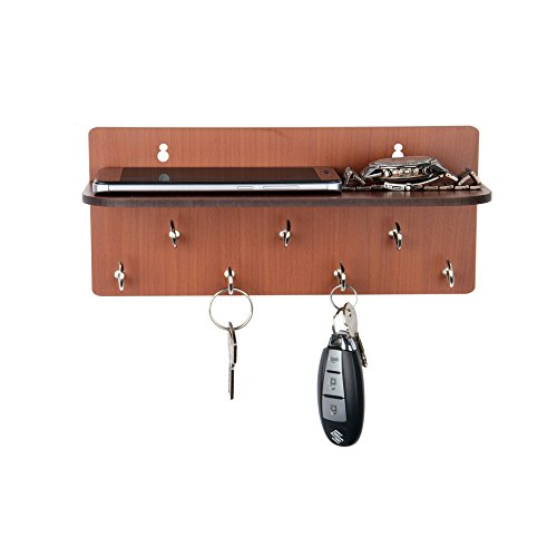 Sehaz Artworks Simple Shelf Wooden Key Holder (25 cm x 11 cm...