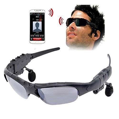 BaiSuiLiang Draadloze bluetooth-zonnebril, stereo-hoofdtelefoon, digitale bril voor iPhone 7, Android smartphones en alle apparaten met Bluetooth