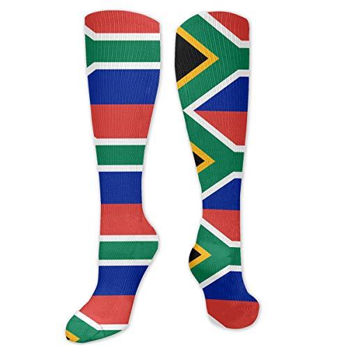 South Africa Flag Funny Socks Crazy Socks Best For Bodybuilding Travel Medical -Running & Fitness