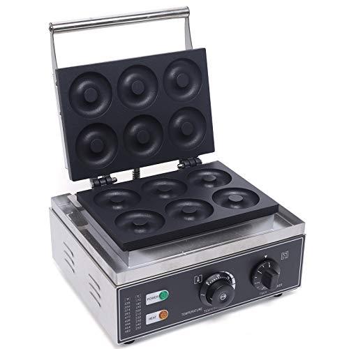 TFCFL 220V 1550W Donutmaker für 6 Donut Doughnut Maschine Elektrisch...