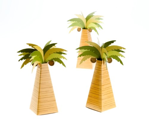 Kate Aspen 28055NA Palm Tree Favor Box