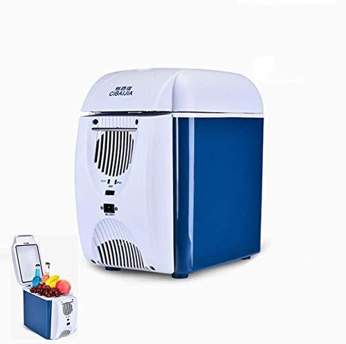 KEKEYANG portátil Enfriar Box Car Nevera Congelador 7.5L 12V / 220V a prueba de golpes Viajes Cuidado de la Piel Productos 33W (18x27x31cm) Refrigerador