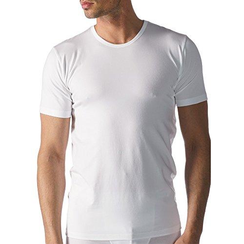 Mey 2er Pack Herren Business-Unterhemden - Dry Cotton Functional - 46082 - Weiß - Größe 5 - Shirt mit Komfortschnitt - Coolmax