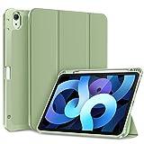 FINTIE Coque pour iPad Air 4ème 10,9' 2020, Étui avec Pencil Holder, Housse de Protection Pochette...