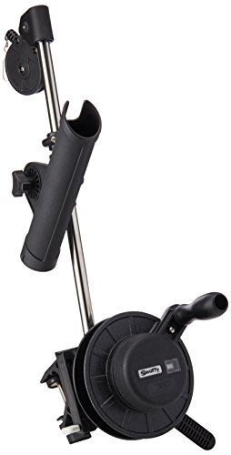Scotty #1050MP Depthmaster Manual Downrigger, Display Packed w/ Rod Holder & Clamp Mount