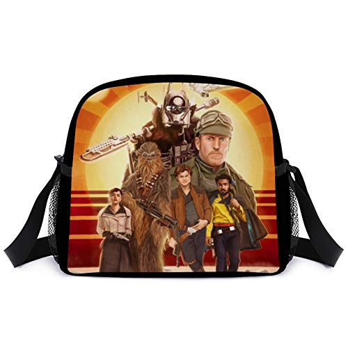Henchuang Chewbacca Lunch Satchel Bag Reusable Lunch Box Water/Leakproof Insulated Lunch Bag for Travel Outdoor Picnic