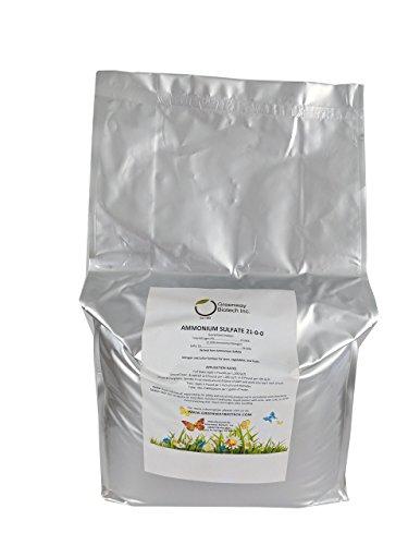 Ammonium Sulfate 21-0-0 Fertilizer'Greenway Biotech Brand' 25 Pounds