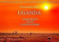 UGANDA - Murchison Falls Nationalpark (Tischkalender 2022 DIN A5 quer): Wunderbare Wildnis (Monatskalender, 14 Seiten )