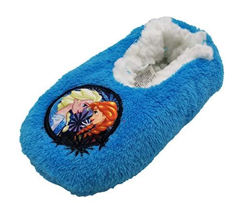 Zapatillas babuchas Infantiles Estar por casa Frozen Disney para niñas (25 EU, Azul)
