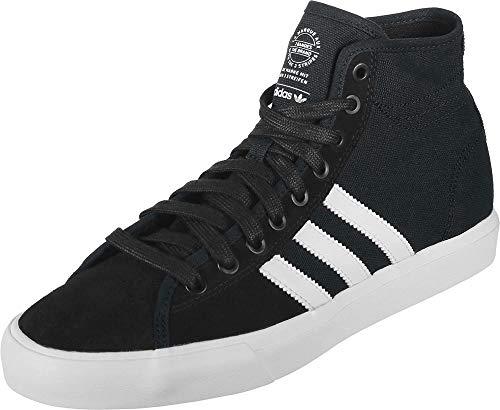 adidas Matchcourt High RX, Scarpe da Skateboard Uomo, Nero (Cblack/Ftwwht/Gum4 Cblack/Ftwwht/Gum4), 42 EU