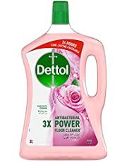 Dettol Rose Antibacterial Power Floor Cleaner 3L