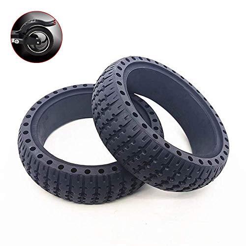 Neumáticos de Scooter eléctrico, neumáticos de Nido de Abeja de 8,5 Pulgadas, absorción de Impactos Hueca, Adecuado para reemplazar Scooters de 6,5 x 45 duraderos y Resistentes