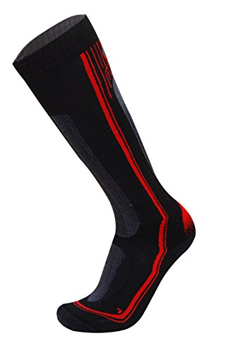 Rywan Cortina, Chaussettes - Rouge (Rouge) 35-37 EU