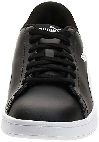PUMA Smash V2 L, Zapatillas Unisex Adulto, Negro Black White, 45 EU