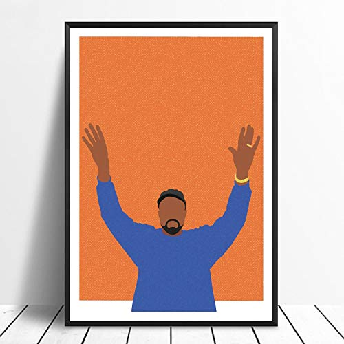 Lazy Wings Kanye West Poster Kanye West Wall Poster Hip Hop Poster Kanye West Wall Art Wall Print Wall Decor Home Decor Wall Decor (Large II 24x36)