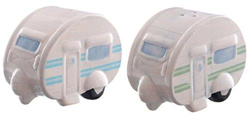 Puckator Ted Smith Keramik Caravan Salz & Pfeffer-Set