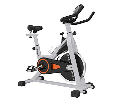 Merax Indoor Cycling Bike - Stationary Exercise Bike with LCD Monitor,...