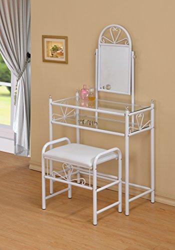 white metal vanity set. White Metal Make Up Vanity Dresser Table and Stool Set Cheap Makeup Sets with Mirror  UpModeled