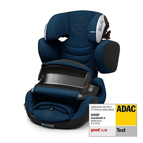 Kiddy Guardianfix 3 | Autokindersitz (Gruppe 1/2/3) (ca. 9 Monate bis 12 Jahre) (ca. 9kg - 36kg) mit Isofix | Kollektion 2019 | Indigo Blue