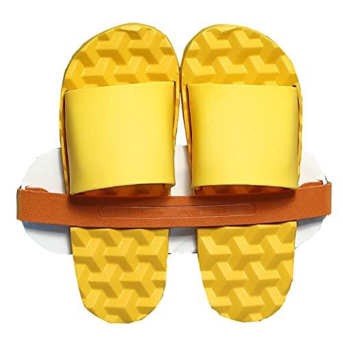 Zapatillas de Masaje para Mujeres y Hombres Secado rápido EVA Toe Abierto Ducha Suave Bañera de hidromasaje Piscina Gimnasio Sandalias para Interiores y Exteriores Baño de Peso Ligero