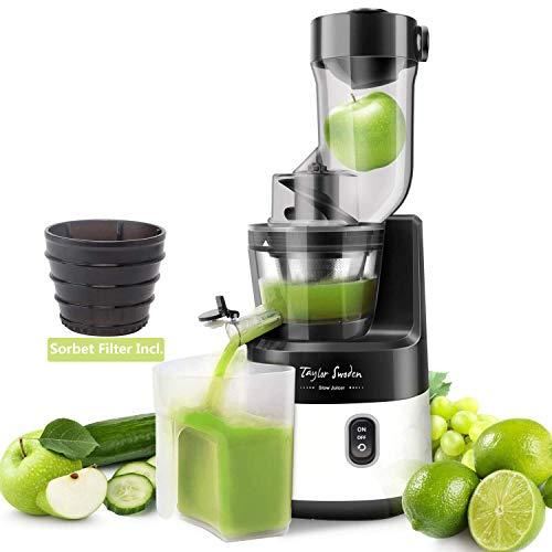 Juicer Machines, Taylor Swoden 200W Cold Press Juicer