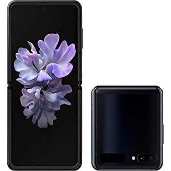 Samsung Galaxy Z Flip Factory Unlocked Cell Phone |US Version - Single SIM | 256GB of Storage | Folding Glass Technology | Long-Lasting Battery | Mirror Black