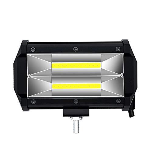 LKT 1PS LED Coche Luz de trabajo 12V 24V 72W lámpara antiniebla para accesorios de carretera 4x4 SUV ATV Motorcycle Cars Truck Vehicle Light (Color : LKT 24LED Spotlight)