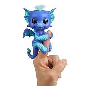 Wow Wee Fingerlings Juguete Interactivo de dragón, reacciona al Ruido, los Movimientos y el Tacto